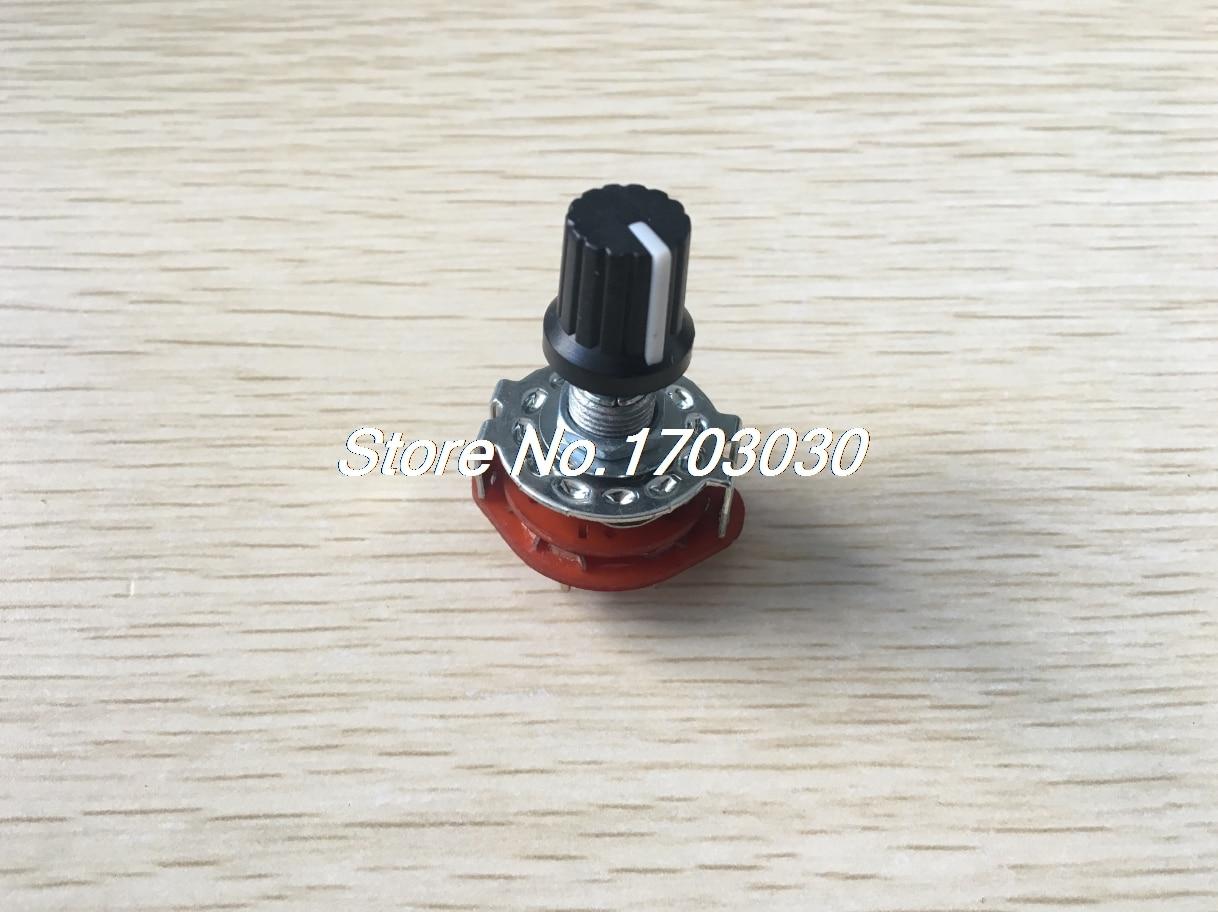 цена на 2P5T 2Wafers Rotary Switch Band Selector 2Pole 5 Position