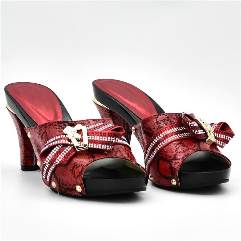 rot Schwarzes Nigerian Strass Taschen Mit Tasche Schuhe gelb rosa Set Passende Verziert Italienische Neue Ankunft Party gold Und Passenden silber qRFwxTxS6