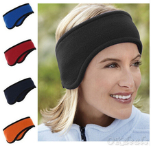 2016 New Men Women Ear Warmer Winter Head Band Polar Fleece Ear Muff Unisex Stretch Spandex