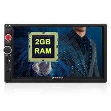 2 GB Android 5.1 Estéreo Del Coche de Radio Audio 7 pulgadas 2 Din Quad Core No Coches Reproductor de DVD de Apoyo de Navegación GPS Rápido arranque DAB + Unidad Principal