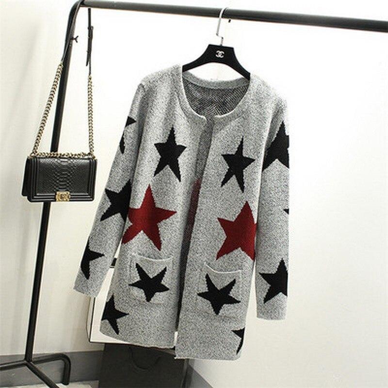 Neue Herbst Frühling Frauen Pullover Strickjacken Beiläufige Warme - Damenbekleidung