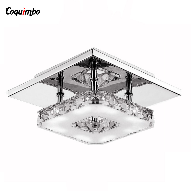 Modern LED Ceiling Lights For Bedroom Dining Room Hallway Ceiling Lamps Crystal LED Bulb Base Lamp Ceiling Living a1 master bedroom living room lamp crystal pendant lights dining room lamp european style dual use fashion pendant lamps
