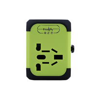 Universal Travel Adapter Electric Plugs Sockets Converter US AU UK EU With Dual USB Charging 2