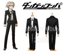 Danganronpa Byakuya Togami Uniform Black Suit Shirt Pants For Men Anime Halloween Cosplay Costume Custom Made