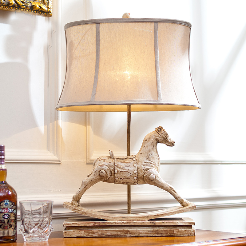 Buy horse lamp table and get free shipping on aliexpress aloadofball Image collections
