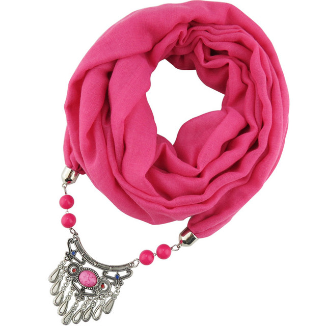 Scarf Necklaces-Islamic Boho Style for Women