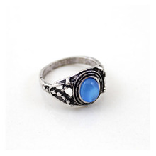 Bohemian  Ring 10pcs Set ElephantsTurquoise Retro for women