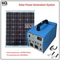 350 W, verlichting systeem generator, zonnepanelen 630*540mm, JL1224 zonne-energie generatie systeem Alternatieve Energie Generatoren