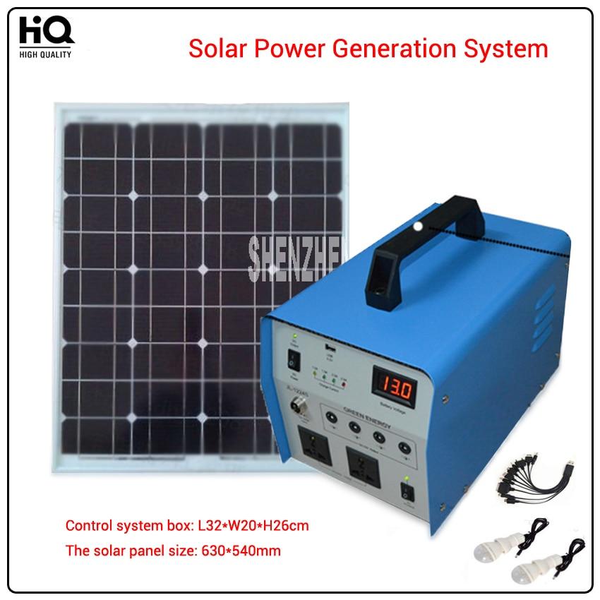 350W,lighting system  generator, solar panels 630*540mm, JL1224 solar power generation system Alternative Energy Generators alternative power supply system