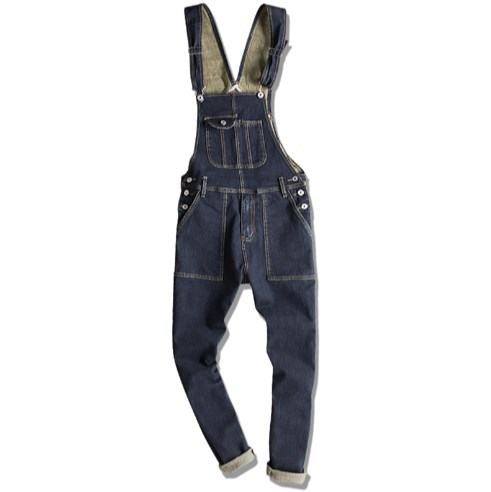 Fashion Couple Clothes One Piece Denim Overalls For Menwomen Casual