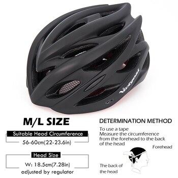 Bicycle Helmets Matte, Black, Men Women  Back Light MTB Integrally Molded 11