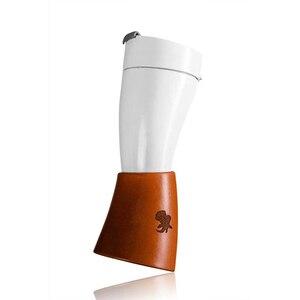 Image 1 - 230ml Tasse Ziege Horn Kaffee Becher Edelstahl Liner Vakuum Isolierung Tasse