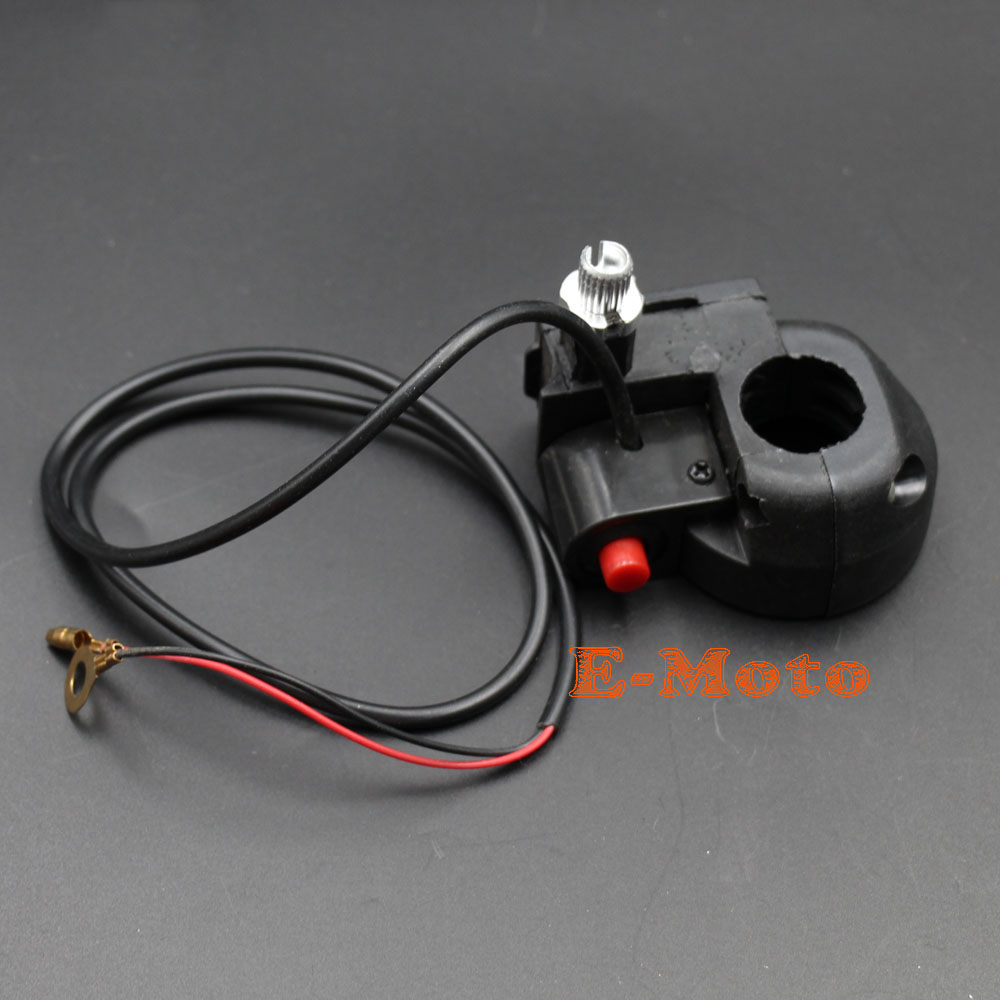 Cat Eye X7 43cc 49cc Hand Control Trun Signal Switch Throttle Wire Ignition For Super Pocket Bike Housing Grips New E Moto In Motorbike Ingition From Automobiles Motorcycles On
