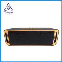 Thinyou Mini Portable Bluetooth 4.0 Wireless Music Box TF SD Card USB FM Radio Dual Bluetooth Speaker Bass Sound Subwoofer