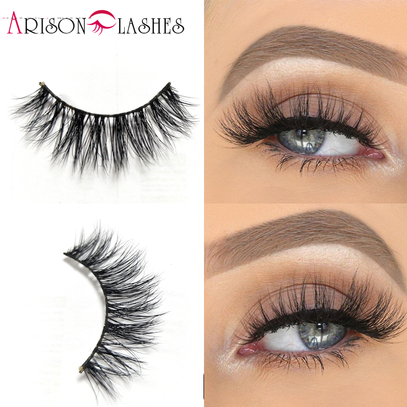 3D Mink Eyelashes Natural Long 100% Real Siberian Eye Lashes For Makeup False Lashes Extension Free Shiping