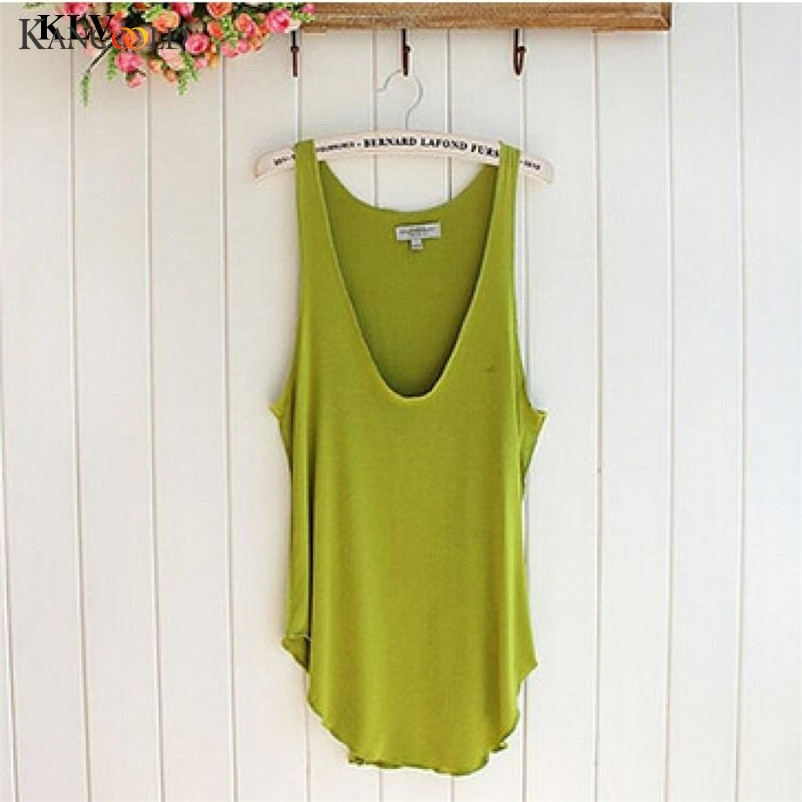 2017 summer Fitness   Tank     Top   New T Shirt Free Size Loose Model Women T-shirt Cotton V-neck Slim   Tops   Fashion Woman Clothes AP233