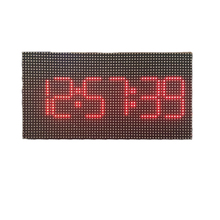 64x32 P3 Led Digital Uhr RGB Led Matrix 192x96mm HD P3 Led Panel