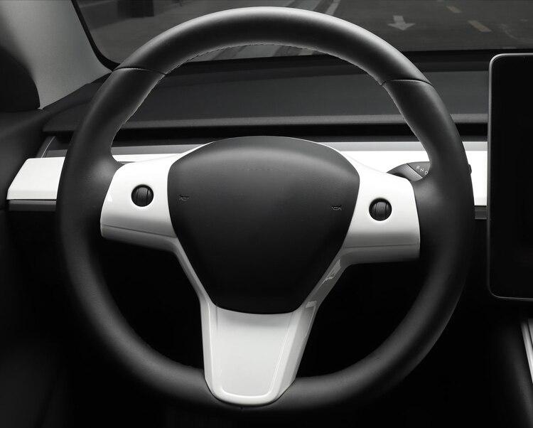 para tesla modelo 3 abs volante acessórios