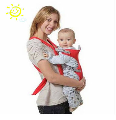 g002 0-36months Breathable Multifunctional Front Facing Baby Carrier Infant Comfortable Sling Backpack Pouch Wrap Baby