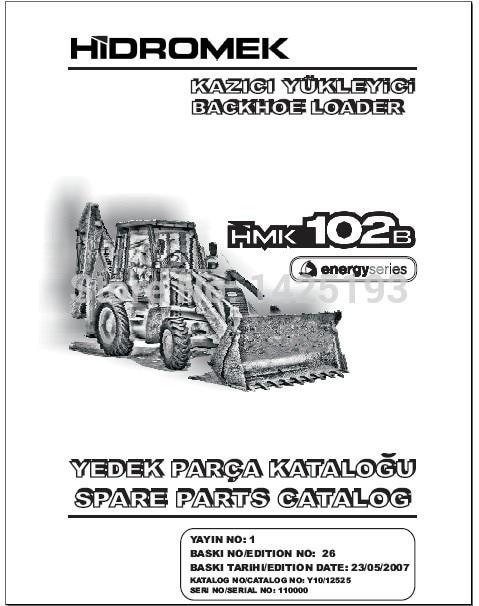 Hidromek Spare Part Catalogs Hidromek Service Manual Wiring