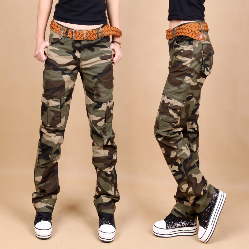 Popular Women Camouflage Slim Pants-Buy Cheap Women Camouflage ...