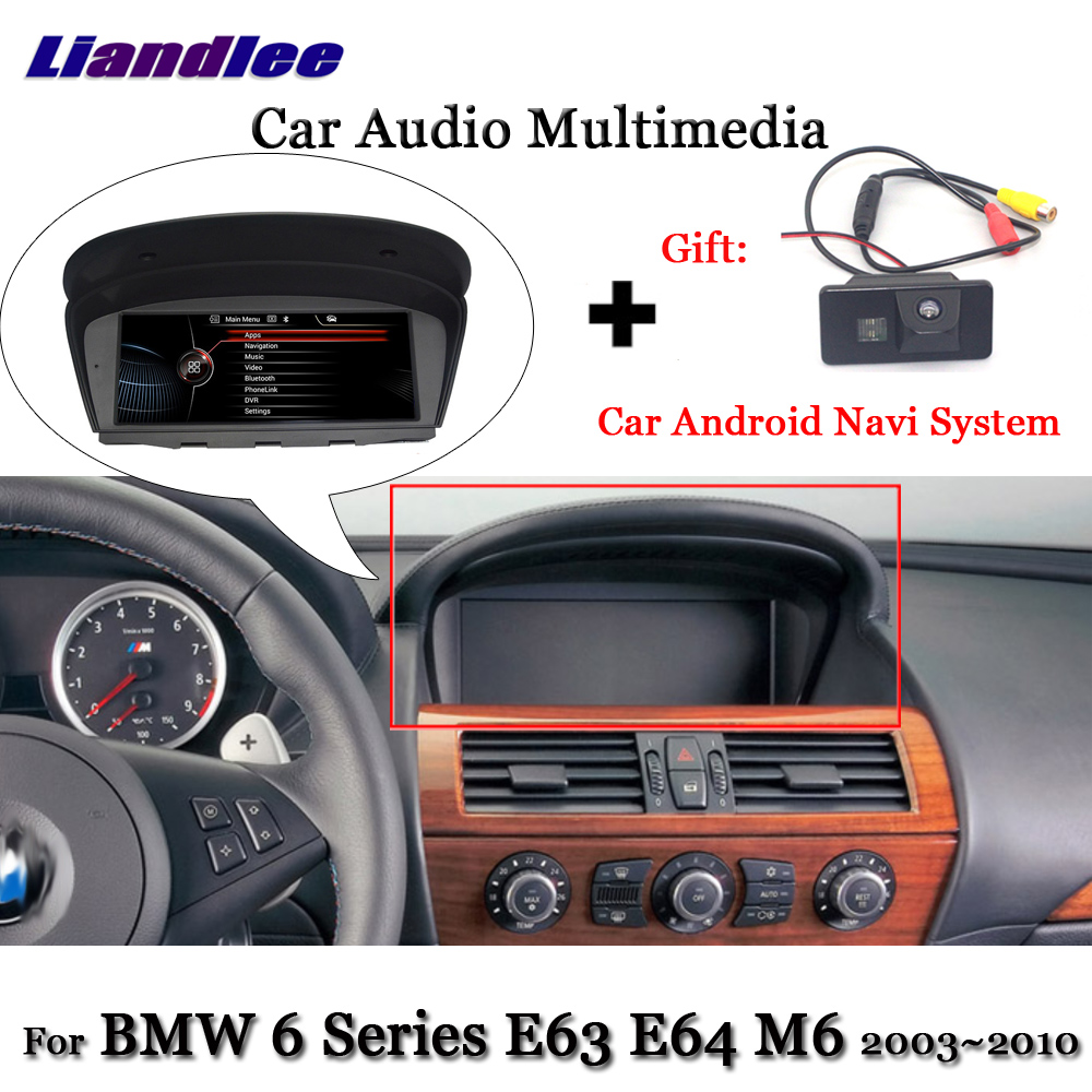 Liandlee Android For BMW 6 Series E63 E64 M6 2003~2010 Stereo WIFI Radio TV Carplay Camera BT AUX GPS Navi Navigation Multimedia