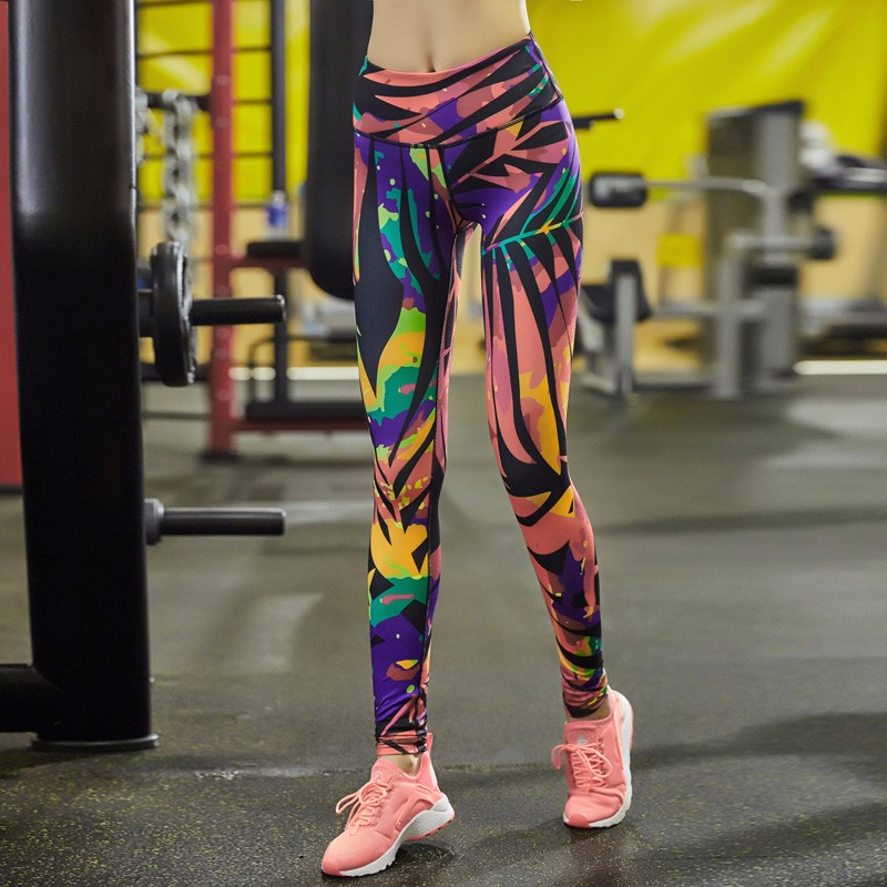 Colorful Women Fitness Leggings