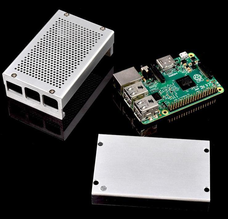 Raspberry Pi 3 Boîtier En Aluminium