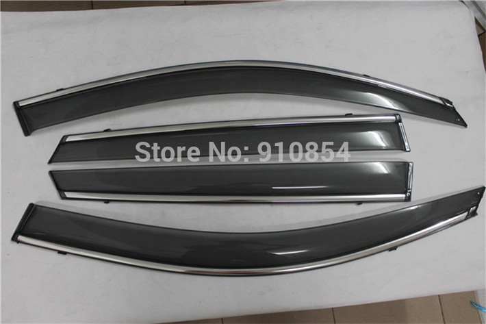 US shipping! Side Window Sun Shield Visors Vent Rain Wind Deflector Guard for Kia Sorento 2014-2015 хромовые накладки для авто guard rain shield sun visor vent sun hyundai tucson ix35