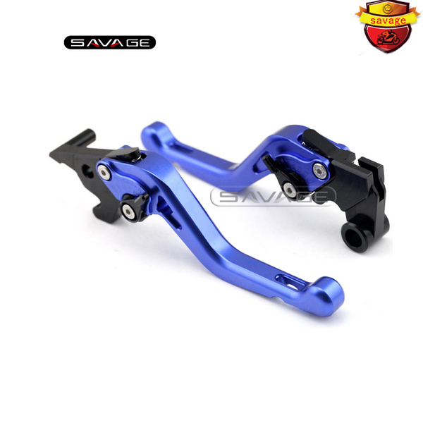 For YAMAHA YZF-R25 YZF-R3 MT-25 MT-03 2015-2016 Motorcycle Accessories CNC Aluminum Adjustable Short Brake Clutch Levers Blue for yamaha mt 03 2015 2016 mt 25 2015 2016 mobile phone navigation bracket