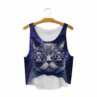 2017-New-Crop-Tops-Galaxy-Space-Cat-Eating-Tacos-Pizza-3D-Printed-Women-Sleeveless-Cami-Gothic-Tank-Vest-T-Shirt-Tops-1