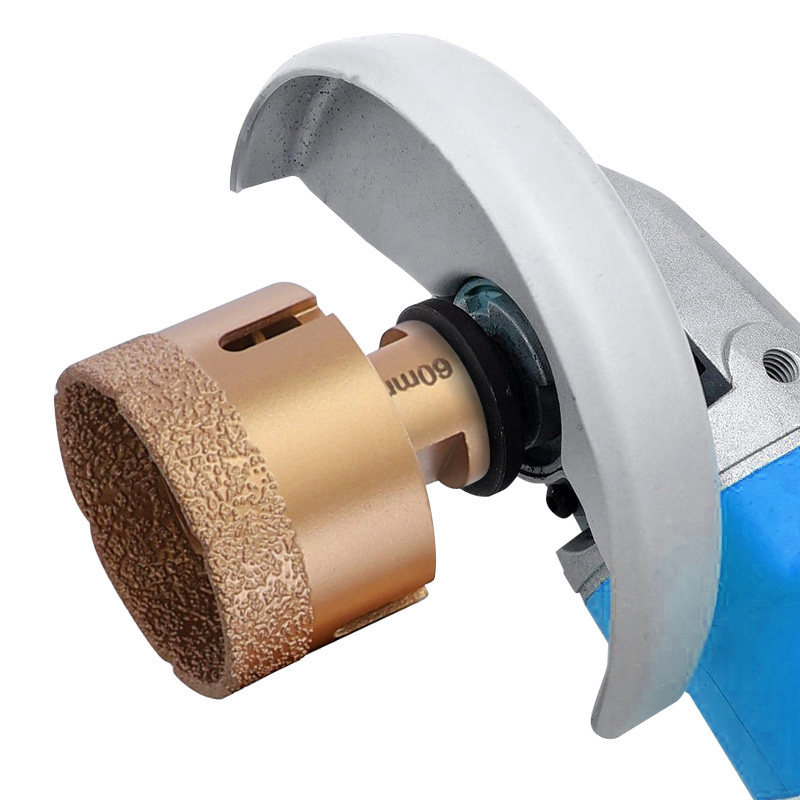 6-70mm Diamond Vacuum Brazed Drill Bits M14 Hole Saw for Marble Tiles Granite Drilling