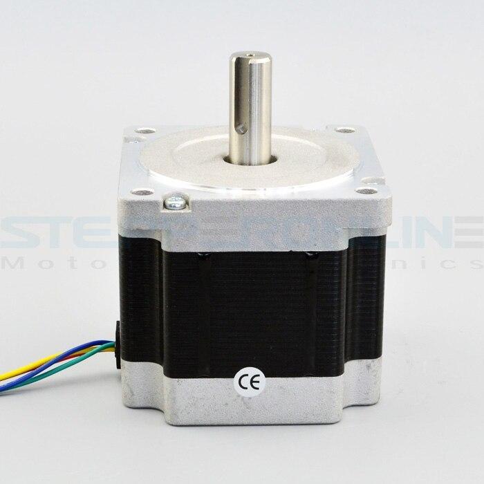 Nema 34 stepper motor 4 5nm 5 5a 4 wire 14mm key for Nema 34 servo motor