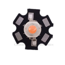 20pcs/lot 3W full spectrum led grow chip with PCB star , lights ,broad 400nm-840nm diode for indoor plant