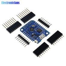 Module de carte de développement WIFI sans fil pour Arduino Nodemcu ESP8266 CH340 CH340G 4MB Wemos D1 Mini V3.0 V3.0.0
