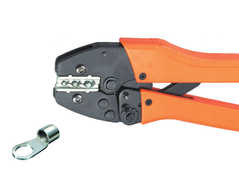 Ratchet crimping plier 6,10,16mm2  AWG10-5 Dedicated cable connector crimping tool mini small ferrules tool crimper plier for crimping cable end sleeves from 0 25 2 5mm2
