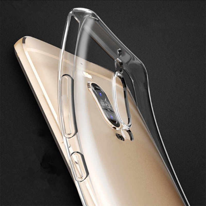 Caso de TPU Ultra Slim silicona contraportada para Huawei Honor 7 8 9 10 V8 V9 V10 Lite 4A 4X 5C P6 P7 P8 P9 P10 P20 Lite Pro Y5 2017