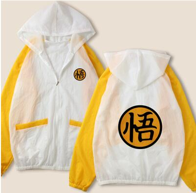 MEN WOMEN kid child children Hokage Ninjia Gintama Dragon Ball hoodie ONE PIECE DVA  Windbreaker Sun UV Protection CLOTHES