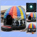Hot Inflatable Disco Dome Commercial Quality, Inflatable Disco Dome Bounce House Free Disco Ball Lighting