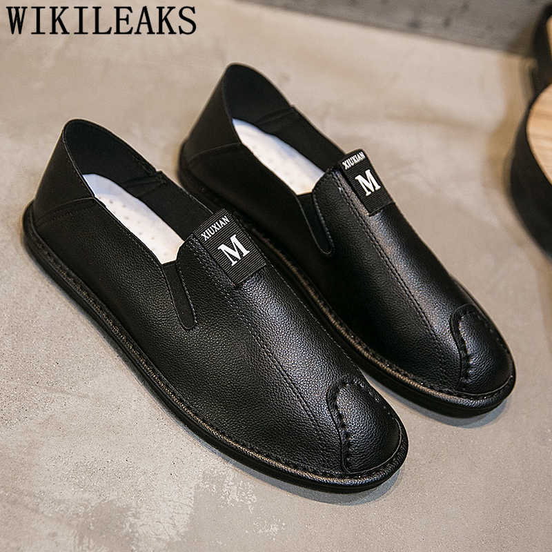 tout neuf 2479f 7106c british mens shoes casual leather loafer shoes men luxury brand designer  shoes men high quality chaussure homme erkek ayakkabi