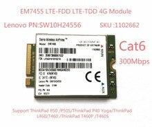 EM7455 Sierra Wireless FDD/TDD LTE Cat6 4G MODULE 4G CARD for Lenovo laptop ThinkPad P50 P50S P40 Yoga L460 T460 T460P T460S
