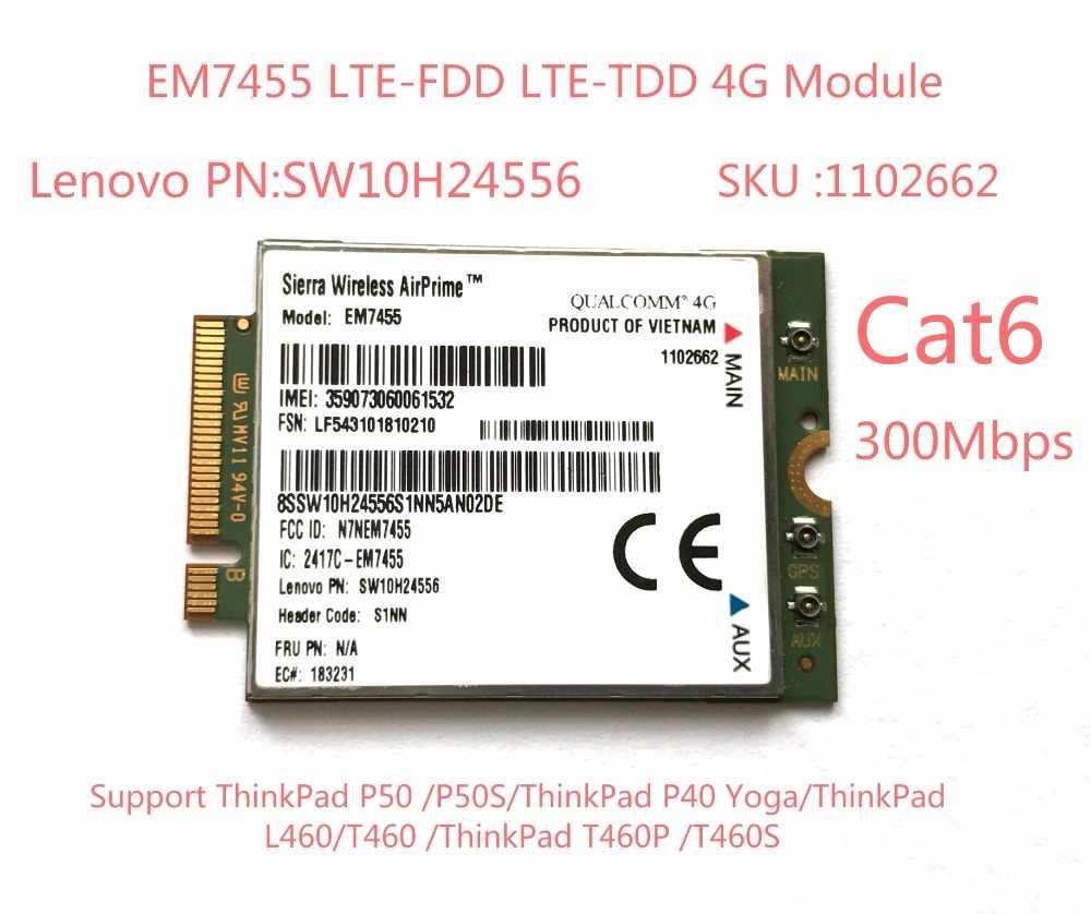 Detail Feedback Questions about EM7455 Sierra Wireless FDD/TDD LTE