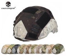 Military Airsoft Tactical Helmet Cover Combat EMERSON Fast Helmet Cover Multicam AOR1 EM8825(China)