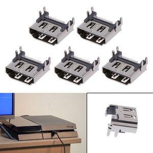 Image 3 - 5Pcs Ersatz Display HDMI Port Buchse Jack Stecker Für PlayStation PS4 Pro Slim Konsole Port