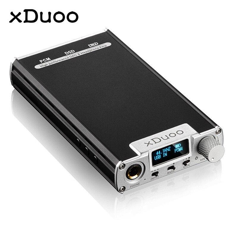 Originale XDUOO XD 05 Portatile Audio DAC Amplificatore Per Cuffie HD ILED Display Professionale PC USB Decodifica Amplificatore
