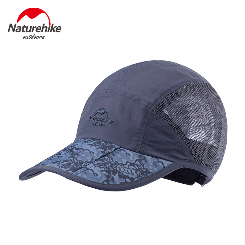 NatureHike Camouflage Hat Women Sport Summer Outdoor Hiking Travlling Sunscreen Mens Brand Hat Female Caps