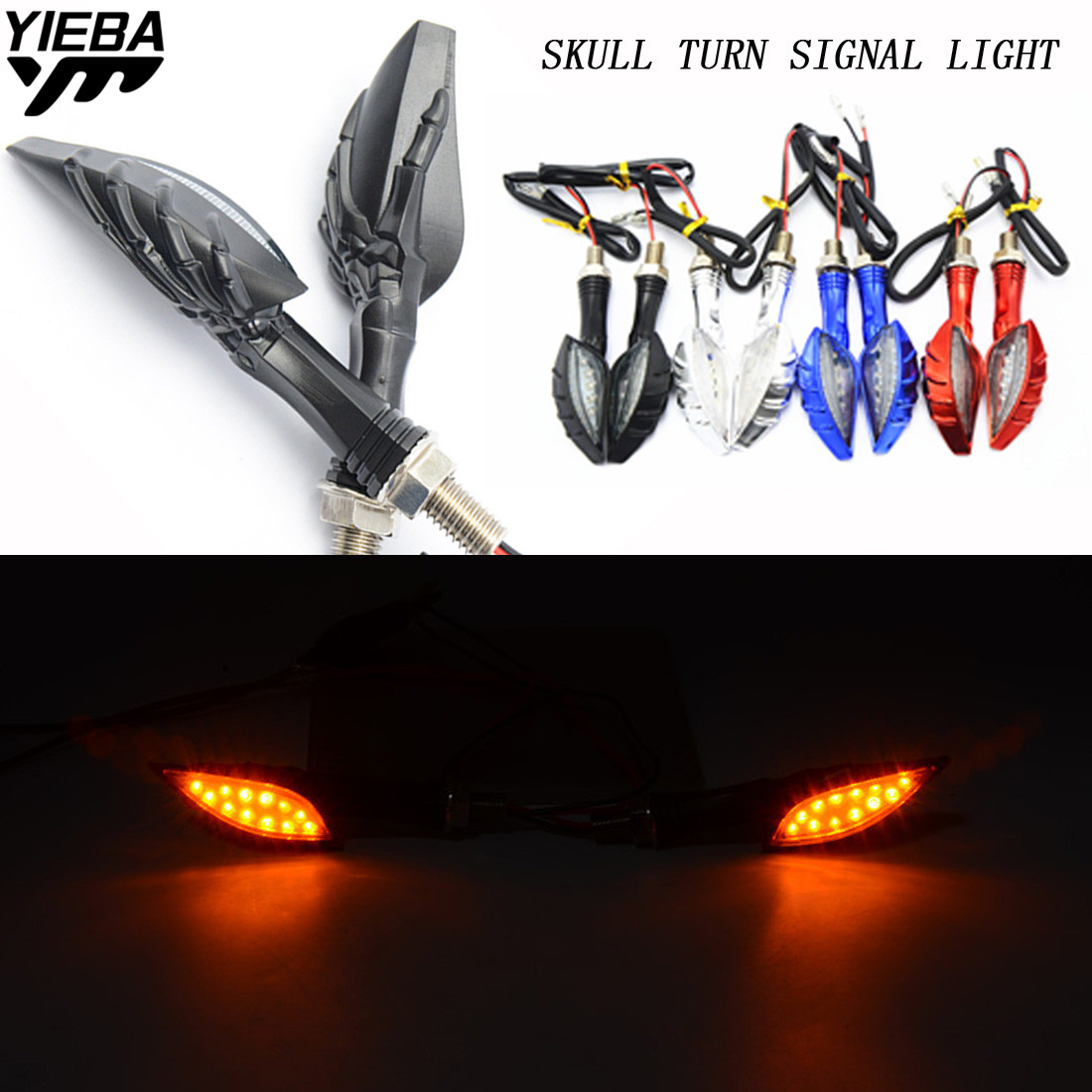 Motorcycle signals light Super bright waterproof LED Steering light FOR honda CBR 1000 RR 1000RR CBR1000RR Cbr 600 yzf r3 MT07 motorcycle parts led tail brake light turn signals for honda cbr 600rr cbr1000rr rr fireblade smoke