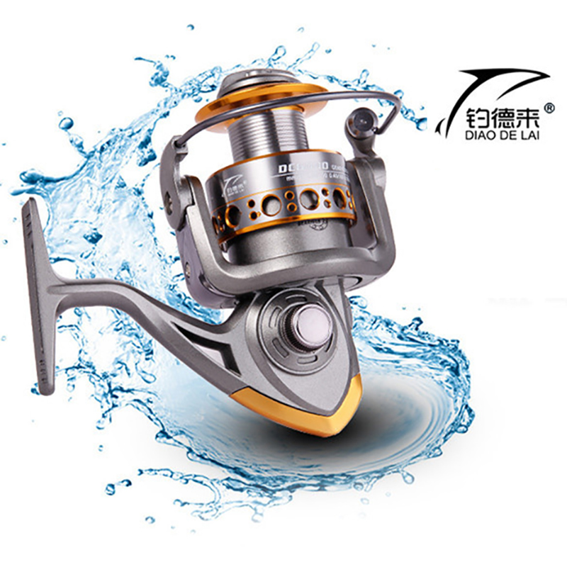 FDDL wheels fish spinning fishing reel 5.2:1 13BB 1000