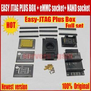 Image 4 - Jtag juego completo de caja fácil plus, Easy Jtag plus box + JTAG fácil de EMMC socket + NAND socket, versión 2020 ORIGINAL