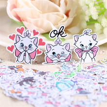 40 pcs cat expression Sticker for Luggage Skateboard Phone Laptop Moto Bicycle Wall Guitar Eason Stickers